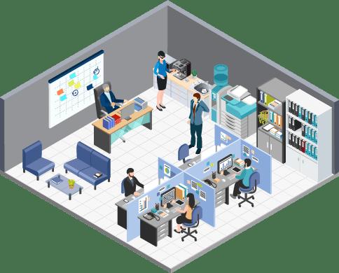 ビジネス・事務作業イメージ